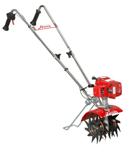 Cheapest Price! Mantis 7225-15-02 2-Cycle Gas-Powered Tiller/Cultivator with Border Edger and Kickst...