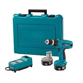 Makita 6337DWDE 14.4-Volt NI-MH 1/2-Inch Cordless Drill/Driver Kit