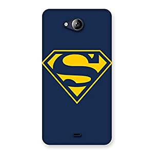 Special Yellow Day Back Case Cover for Canvas Play Q355