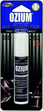 Ozium Air Sanitizer 3.5 OZ - That New Car Smell