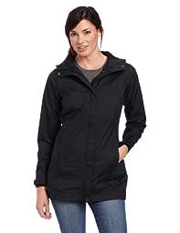 Columbia Women\'s Splash A Little Rain Jacket, Small, Black