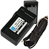 Battery+Charger for Nikon CoolPix S