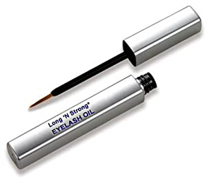 Long 'N Strong Eyelash Oil Grow Longer Thicker Lovelier Lashes