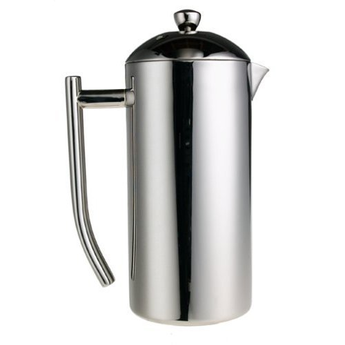 Frieling French Press Ultimo ~ Insulated Stainless Steel Mirror Finish Coffee Press 23-28 Oz