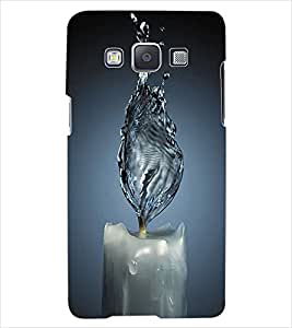 ColourCraft Water Candle Back Case Cover for SAMSUNG GALAXY E7