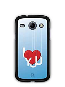 YuBingo I Love You Mobile Case Back Cover for Samsung Galaxy Core