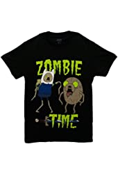 Adventure Time With Finn And Jake Zombie Time Officially Licensed Adult T-shirt
