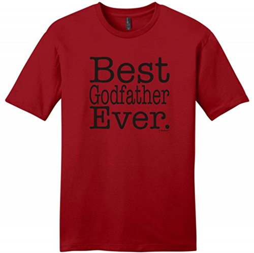 Best Godfather Ever Young Mens T-Shirt Small Classic Red