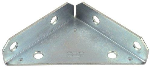 Stanley Hardware 3-Inch Heavy Duty Corner Brace, Zinc Plated, 2-Pack #755560 front-915362