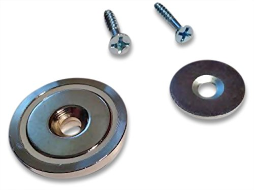 Magnetic Cabinet Or Door Latch Set With Screws Neodymium
