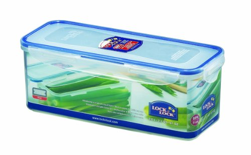 Lock  Lock Rectangular Food Container with Tray Tall 8 3-Cup 67-Fluid OuncesB0000AN4D2 : image