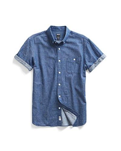 Todd Snyder Men's Twill Short Sleeve Shirt