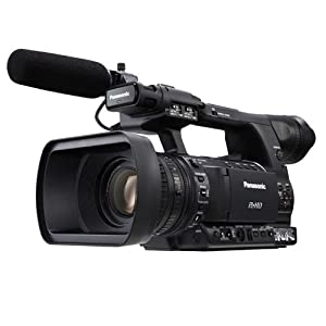 Panasonic AG-HPX250PJ HD Handheld Video Camera with 3.45-Inch LCD (Black)