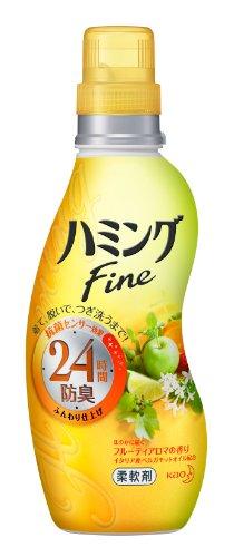 ハミングファイン 柔軟剤 フルーティアロマの香り 本体 570ml