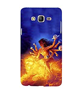 iFasho Godess Durga Back Case Cover for Samsung Galaxy On5 Pro