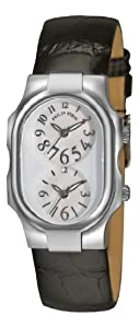 Philip Stein Women's 1FFSMOPABS Tesslar Mother-Of-Pearl Dial Watch