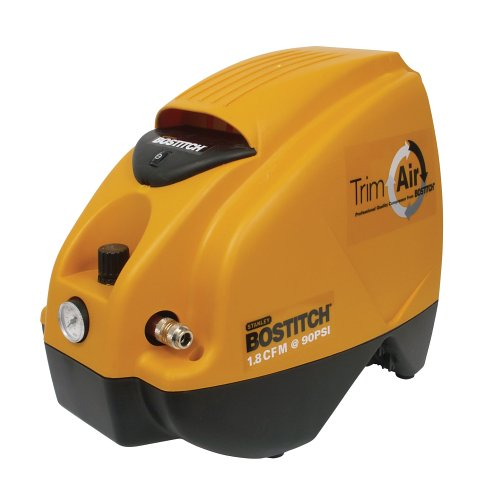 Bostitch CAP1516 Trim Air 8 Amp 1-1/2-Horsepower 1.6-Gallon Oil-Free Camper-Shaped Compressor