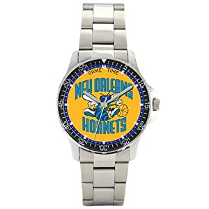 NBA Mens New Orleans Hornets Coach Series Watch #BC-NO by Game Time