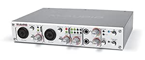 m audio firewire 410 4 in 10 out firewire mobile recording interface musical. Black Bedroom Furniture Sets. Home Design Ideas