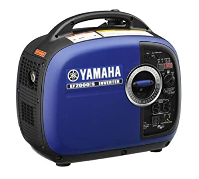 Yamaha EF2000iS 2,000 Watt 79cc OHV 4-Stroke Gas Powered Portable Inverter Generator, CARB Compliant
