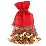 HAV Decorative Potli Bag With Dry Fruits, Candies, Chocolates , Sweets