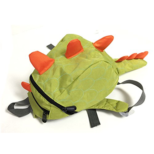 Review Bowbear Toddler Kids Preschool Dinosaur Backpack, Green