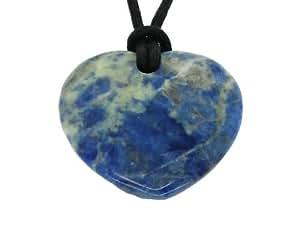 Lucky sagittarius birthstone heart pendant Sagittarius lucky color