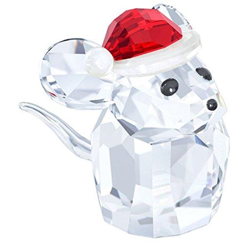 Swarovski 5135858Mouse con cappello da Babbo Natale, 2,8x 3,3x 2,5cm