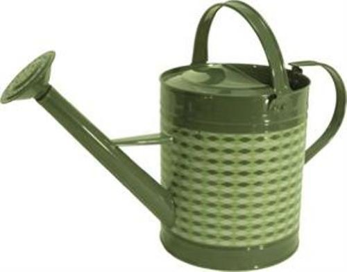 Tierra Garden 36-3001 Retro Round Watering Can, 1.3-Gallon, Green