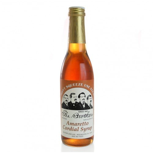 Fee Brothers Amaretto Cordial Syrup -12.8 Oz 1 Each