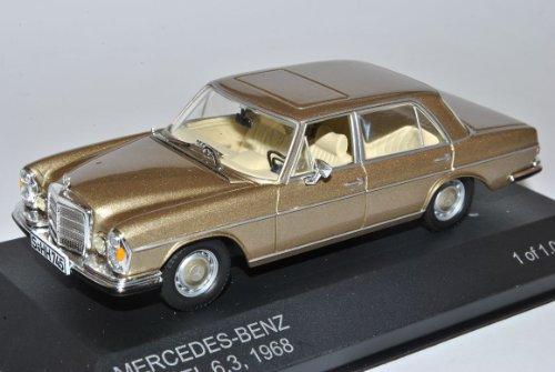 Mercedes-Benz 300SEL Limousine Gold 6.3 1968 W109 1965-1972 1/43 Whitebox Modell Auto