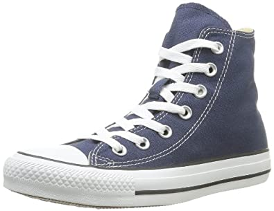 Converse Converse Men's The Chuck Taylor All Star Hi Sneaker 11.5 Navy