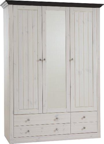 Steens-Kleiderschrank-Monaco-Kiefer-massiv-weikolonial-3-trg-145x201x60cm-bxhxt