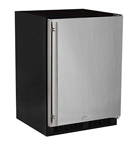 AGA Marvel ML24RAS1RS Refrigerator, Right Hinge Stainless Steel Door, 24-Inch (Refrigerator Door Ajar Alarm compare prices)
