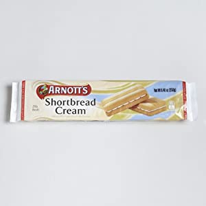 Arnott's Vanilla Cream Shortbread Cookies 8.82 oz. (Pack of 12)
