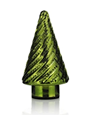 Small Glass Light Up Tree