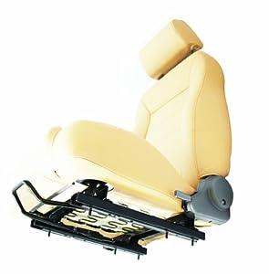 Bestop 51248-01 Black Seat Slider Adapter for 03-06 Wrangler TJ, Passenger-side