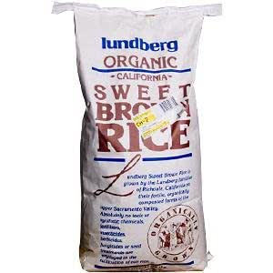Amazon.com: Lundberg Organic Sweet Brown Rice, 25 lbs