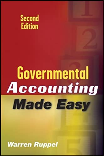 Governmental Accounting Made Easy 2ND EDITION [HC,2009] written by Warren Ruppel
