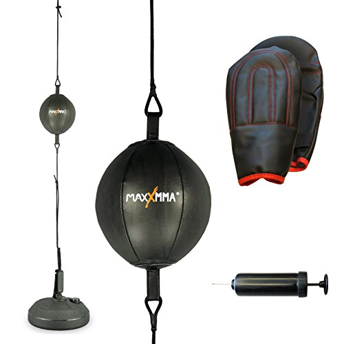 MaxxMMA Double End Striking Punching Bag Kit - FREE SHIPPING!