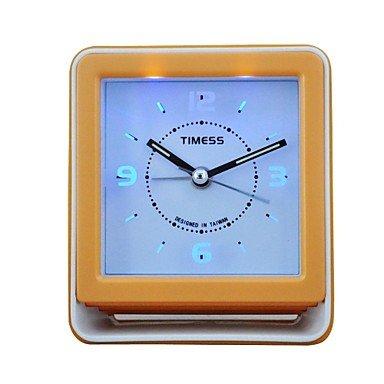 Timess Blue Light Chord Music Snooze Mute Alarm Clock