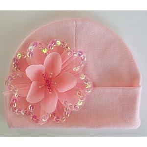 Celeste Cotton Baby Hat