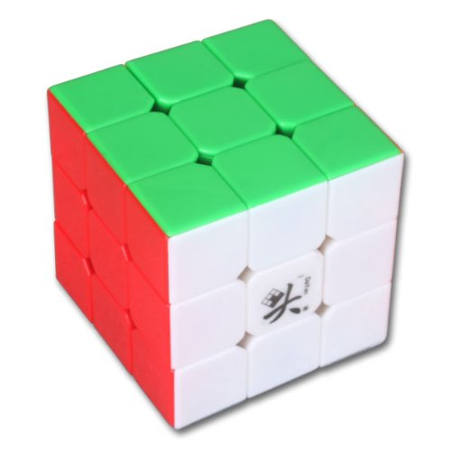 Dayan Zhanchi 3x3x3 6-color Stickerless Speed Cube White