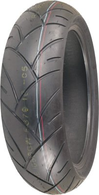 Shinko Smoke Bomb Rear Tire - 180/55ZR-17/Red
