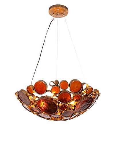 Varaluz Fascination 4-Light Pendant, Kolorado/Amber