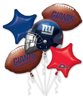 Anagram International Bouquet Giants Party Balloons, Multicolor at Steeler Mania