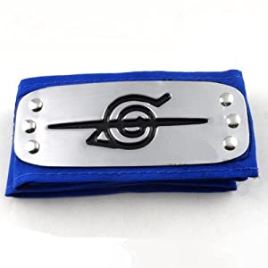 Naruto Anti Leaf Village Headband Akatsuki Uchiha Itachi Blue