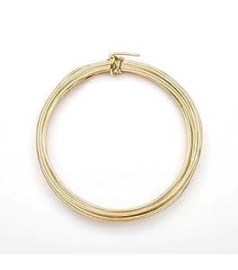 amazoncom jewelry wire aluminum 16 gauge green 3yd