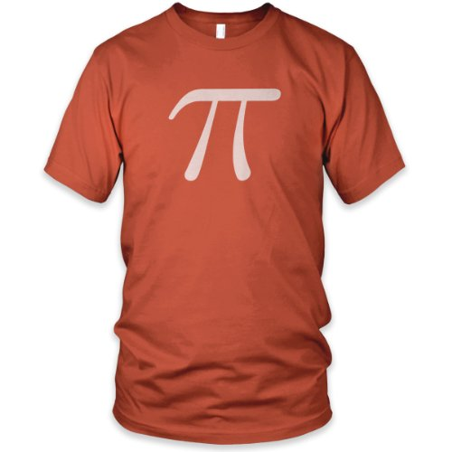 Pi Fine Jersey T-Shirt, Orange, 2XL