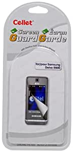 Cellet Super Strong Maximum Protection Screen Guard/Protector for Samsung Instinct M800